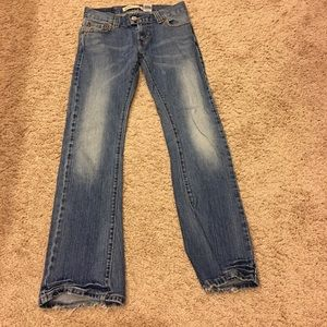 Levis slouch flare jeans size 5M